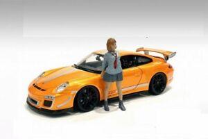 CAR MEET 1 FIGURE V 1/18 scale FIGURINE AMERICAN DIORAMA 76281