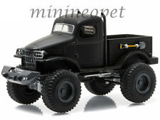 GREENLIGHT  27840 A BLACK BANDIT 1941 41 MILITARY 1/2 TON 4X4 1/64 BLACK
