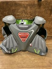 Brand New Maverick Mx Lacrosse Shoulder Pads Gray Size Medium