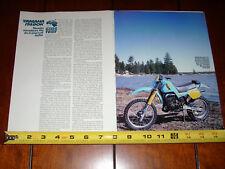 1983 YAMAHA IT490K - ORIGINAL ARTICLE IT 490
