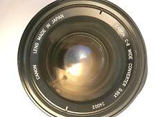 Canon Convertisseur c-8 Wide 0,65 x avec cuir box-très bon état