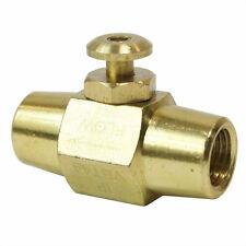 Brass Button Valve 1/4
