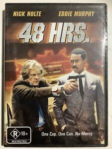 48 HRS. - DVD Region 4 - Eddie Murphy Nick Nolte BRAND NEW SEALED