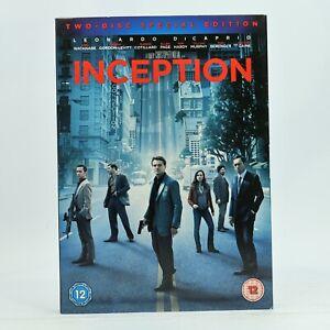 Inception 2-Disc Special Edition Leonardo Dicaprio 2010 DVD R2 Good Condition