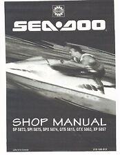 Sea-Doo Service Shop Manual 1995 SeaDoo SP, SPX SPI, XP, GTS & GTX