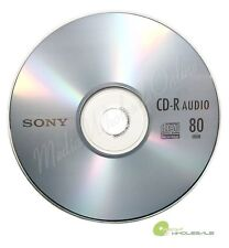 25 SONY Blank Music CD-R CDR Branded 80min Digital Audio Disc in paper sleeves