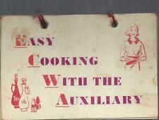 *CHICAGO IL VINTAGE *EV. CHILD WELFARE AGENCY AUXILIARY COOK BOOK *EASY COOKING
