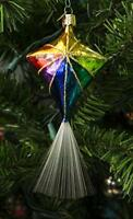Old World Christmas – Kite Ornament – Hand Painted Blown Glass – For Fake