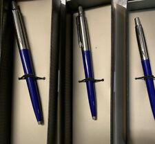 Parker Jotter Pens (3) Blue