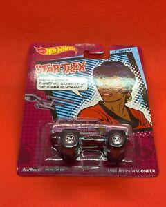 Hot Wheels 1988 Jeep Wagoneer Star Trek LT Uhura Real Riders