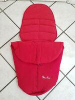 Silver Cross Surf Red Chili Chilli Footmuff Cosytoes ref5P0