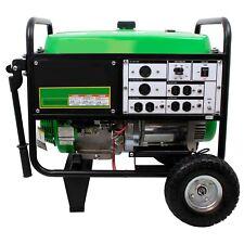 Portable Generator 75 Kw Gas Electricrecoil 120240 Volts 65 Tank