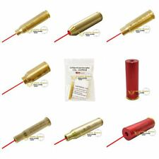 LOT NEW Laser Bore Sight BoreSighter Gun Cartridge Many Calibers Available