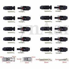 10X ADATTATORE CONNETTORE MC4 M/F PER PANNELLO SOLARE FOTOVOLTAICO 25A 1000V