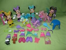 Disney Junior Fisher Price Bowtique Dress Up Minnie Mouse & Accessories Pony Lot