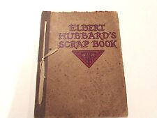 Elbert Hubbard's Scrap Book, 1923, w/ Rare Upside Down Copyright Softcover Book