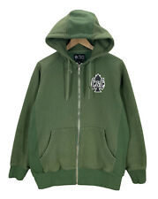 Crooks and Castles Spades Cycling Green Hoodie Sweatshirt Sz M