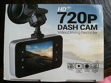"HD 720p CAR Vehicle DASH CAM Video Driving Recorder 2.4"" LCD 120 Wide & Motion"