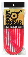 Lodge  Red  Silicone  Oven Mitt  2 pk