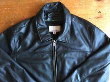 Wilson Leather M. Julian Leather Jacket Coat Thinulate Liner Black Mens Sz L B13