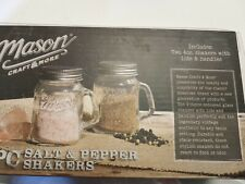 MASON CRAFT & MORE SALT/PEPPER SHAKER NIB