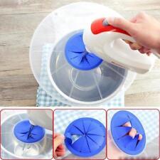 Mixing Bowl Splatter Guard Splash Lid No Mess Cover Electric Whisking Blender JA