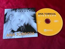 Ana Torroja Mecano Disculpa Import Mexico Promo Promotional 1Trk CD Single