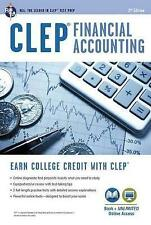NEW CLEP® Financial Accounting Book + Online (CLEP Test Preparation)