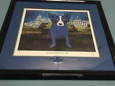 """George Rodrigue """"Washington Blue Dog"""""""