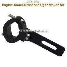 Universal Black 1.1 Inch/ 28mm motorcycle mounting handlebar clamp kit Motorcycl