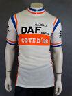 Vintage Daf Trucks Cote D'or Cycling Shirt Jersey Trikot Wool Acrylic