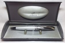 Parker 100 Opal Silver ST Ball Pen New In Box Product 49763