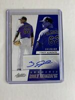 2019 Absolute Baseball Yency Almonte Rookie Autographs Colorade