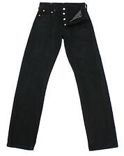 VTG LEVIS 501 BLACK ULTIMATE DENIM HIGH WAISTED BOYFRIEND JEANS W26 L31 L0111