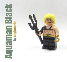 LEGO Custom - Aquaman Black Armor - Super heroes mini figure dc marvel