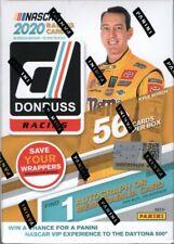 2020 Donruss Racing Nascar Cards Blaster Box 56 Cards 1 Hit Per Box On Average