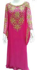 Oferta Año Nuevo Especial Dubái Caftanes Abaya Vestido Elegante Largo Farasha Ms