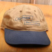 Hallmark Race Trailers Baseball Cap Hat Adjustable Strap Back One Size