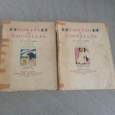 LA FONTAINE/contes et nouvelles /BRUNELLESCHI/ erotique /32 gravures couleurs