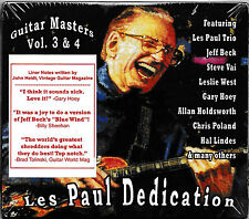 Les Paul Dedication Guitar Masters Vol. 3 & 4  -CD-  NEU&OVP/SEALED!