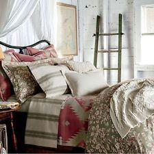 RALPH LAUREN Amagansett TWIN COMFORTER NWT Vintage Floral Rose LAYLA Green Pink