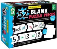 52 BLANK PUZZLE PIECES - KEY EDUCATION PUBLISHING COMPANY, LLC (COR) - NEW HARDC