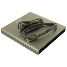 Pawtec USB 3.0 Aluminum Slim Enclosure SATA Optical Blu-Ray DVD-RW Drive (Gray)