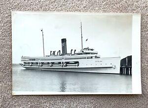 "Santa Catalina Island: Vintage Catalina Steamer Black & White 11"" x 7"" Photo"