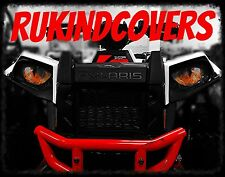 Polaris Ranger RZR 800 YELLOW Eye's RuKind Cover's HeadLight Covers ALL YEARS