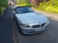 BMW Z4 ROADSTER 3.0i MANUAL IN SILVER WITH BLACK LEATHER 109031 FULL MOT