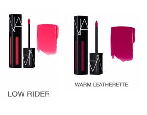 NARS Velvet Powermatte Lip Pigment, 0.18 oz LOW RIDER & WARM LETHERETTE SHADES