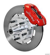 """Wilwood 78-88 Monte Carlo Regal Front Disc Big Brake Kit 12.19"""" Plain Rotor Red"""