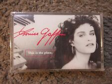 """LOUISE GOFFIN """"THIS IS THE PLACE"""" 1988 STILL SEALED/BRAND NEW OOP CASSETTE RARE!"""