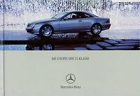 Mercedes CL Coupe Prospekt 2002 9/02 Autoprospekt brochure prospectus Katalog